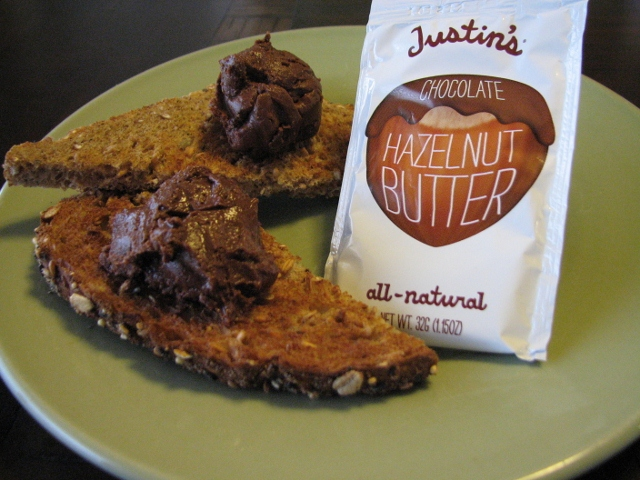 Justin's hazelnut butter