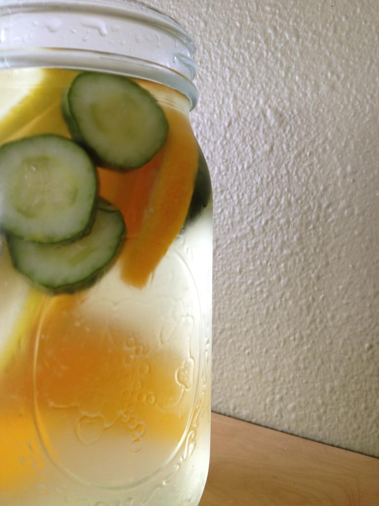 Lemon Orange Cucumber Water