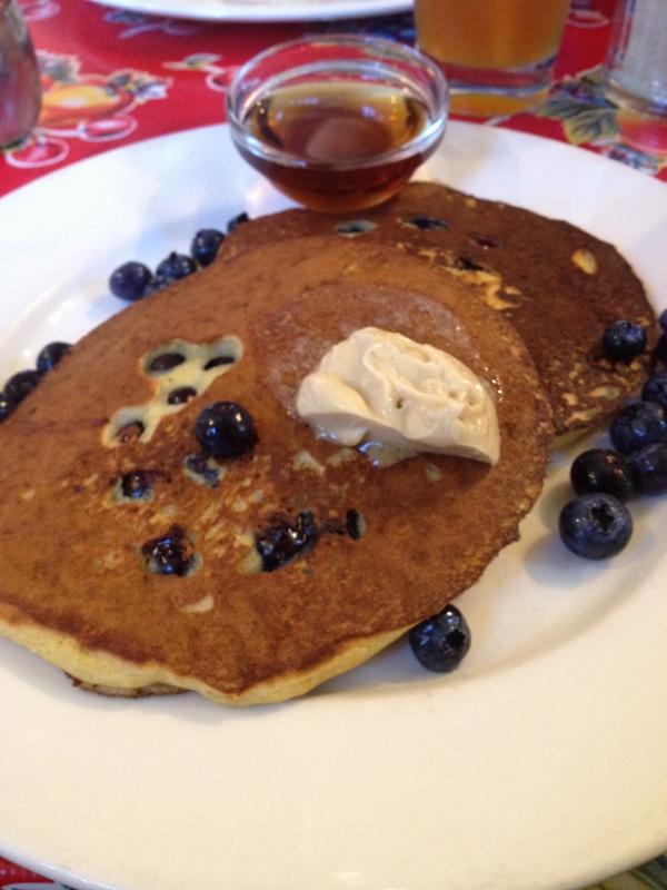 Rebar's Blueberry Pancakes