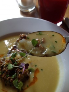 Potato, Leek and Squash Soup