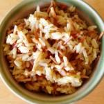 Homemade Vegetarian Rice A Roni