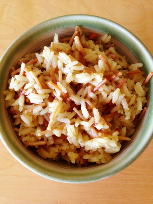 Homemade Vegetarian Rice A Roni