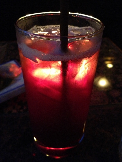 Housemade grape soda St. Dames