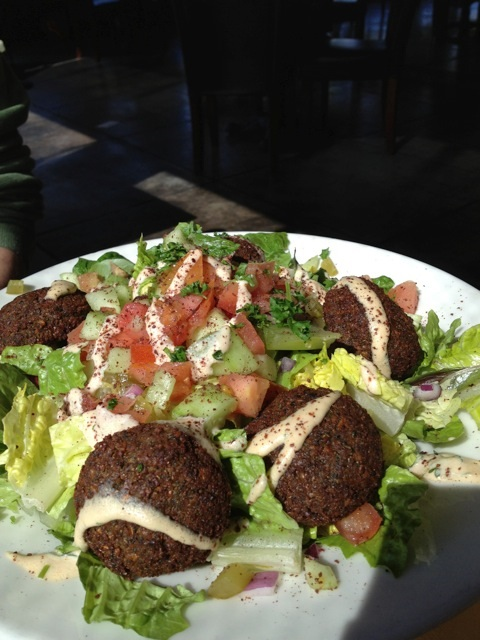 Falafel Plate at Pita Jungle