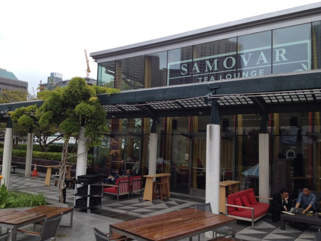 Front of Samovar Tea Lounge San Francisco
