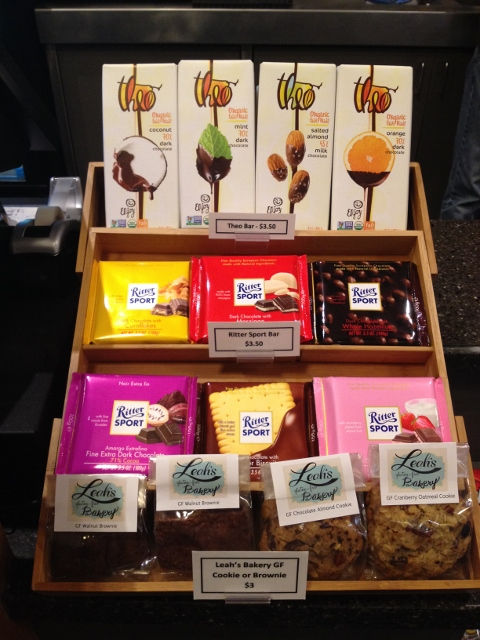 A display of chocolate at the Pickford