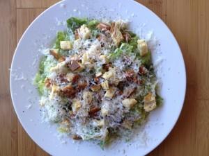 Chik Pattie Caesar Salad