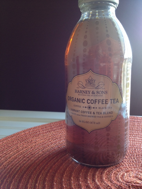 Bottle of Harney and Sons Organic Coffee Tea