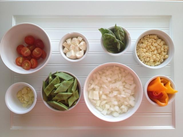 Summer Saute ingredients