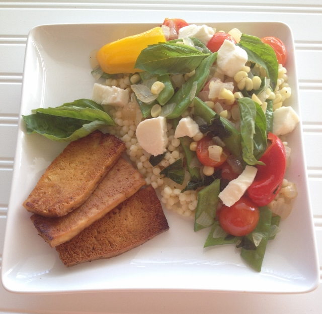 Summer Saute with Fregola Sarda