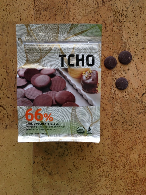 TCHO Dark Chocolate Discs