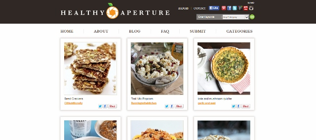 Healthy Aperture main page