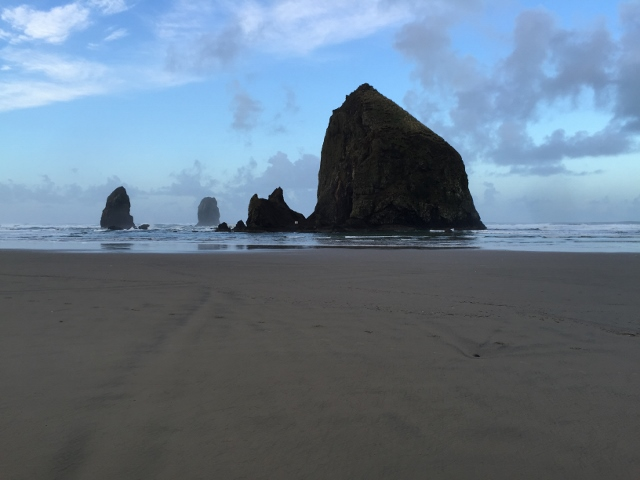 Haystack Rock at Cannon Beach