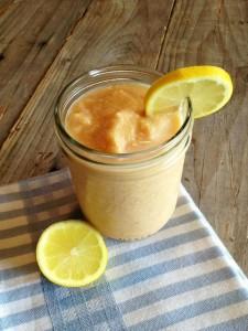 Peach Lemon Cream Smoothie