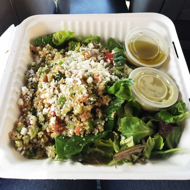 Zoes Kitchen Quinoa Salad Veg Girl Rd