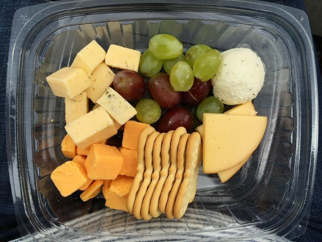 The Natural's cheese plate