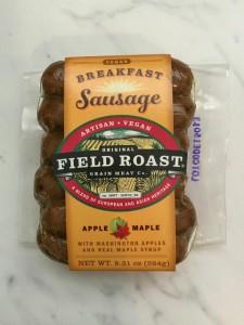 Field roast apple maple sausage