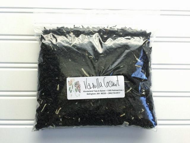 Vanilla coconut black tea