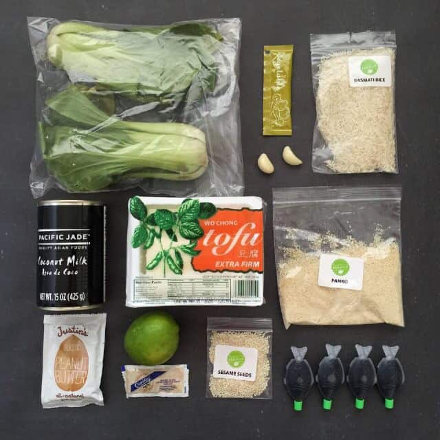 Need a little help with dinner? Hello Fresh may be your answer. They plan and shop before sending virtually everything you need for 3 meals, and you just have to put it together. Their take on vegetarian dinners?  Creative ingredients and simple recipes that are nutritious and delicious.