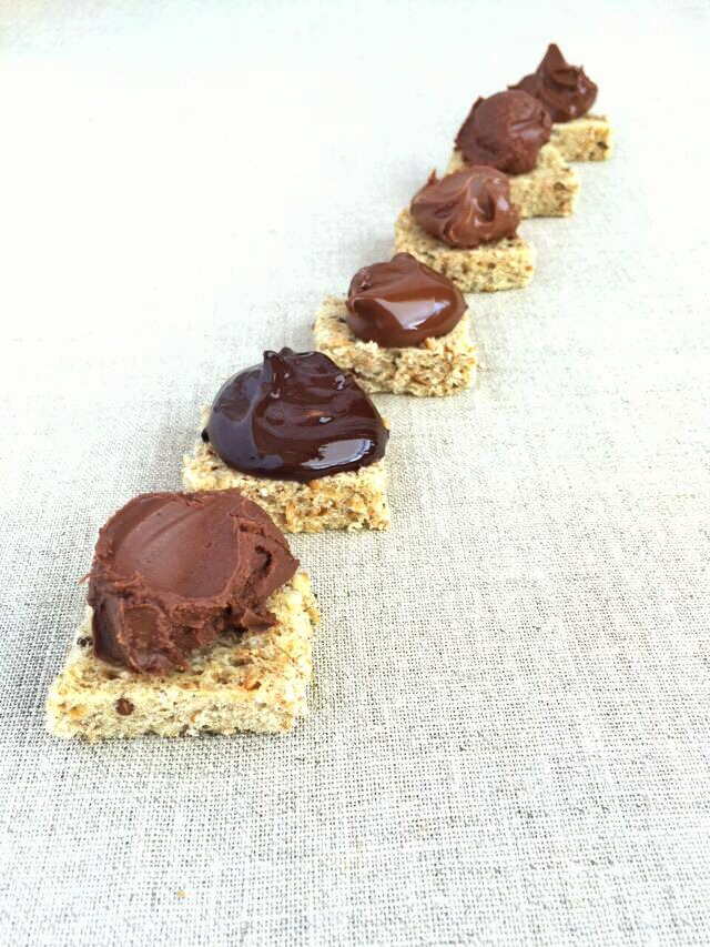 Chocolate-hazelnut spreads