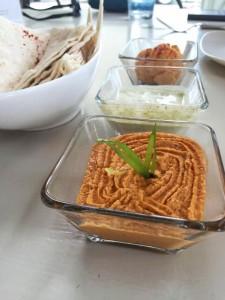 Creole Cashew Cheese, Raw Ranch and Hummus at Seed NOLA