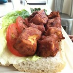 Southern Fried Tofu Poboy at Seed NOLA