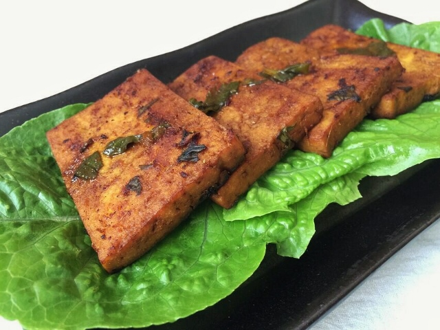Thai seared tofu