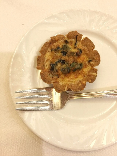 Chard, gruyere and sage tart