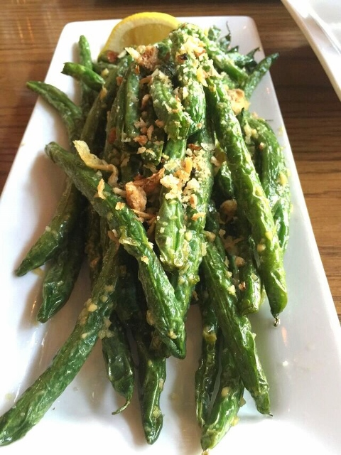 Boom Noodle's Wok Fried Green Beans