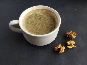 My Fave Vegan Coffee Shake: Walnut Cinnamon Mocha