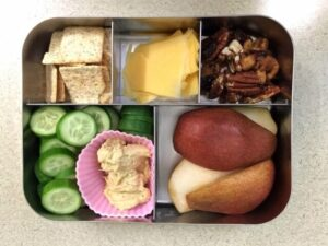 Pears Bento Lunch