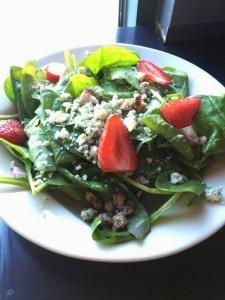 Pagliacci's spinacci salad
