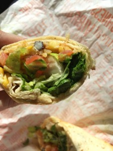 Tropical Smoothie Cafe Hummus Veggie Wrap