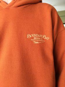 Boundary Bay sweatshirt Bellingham WA