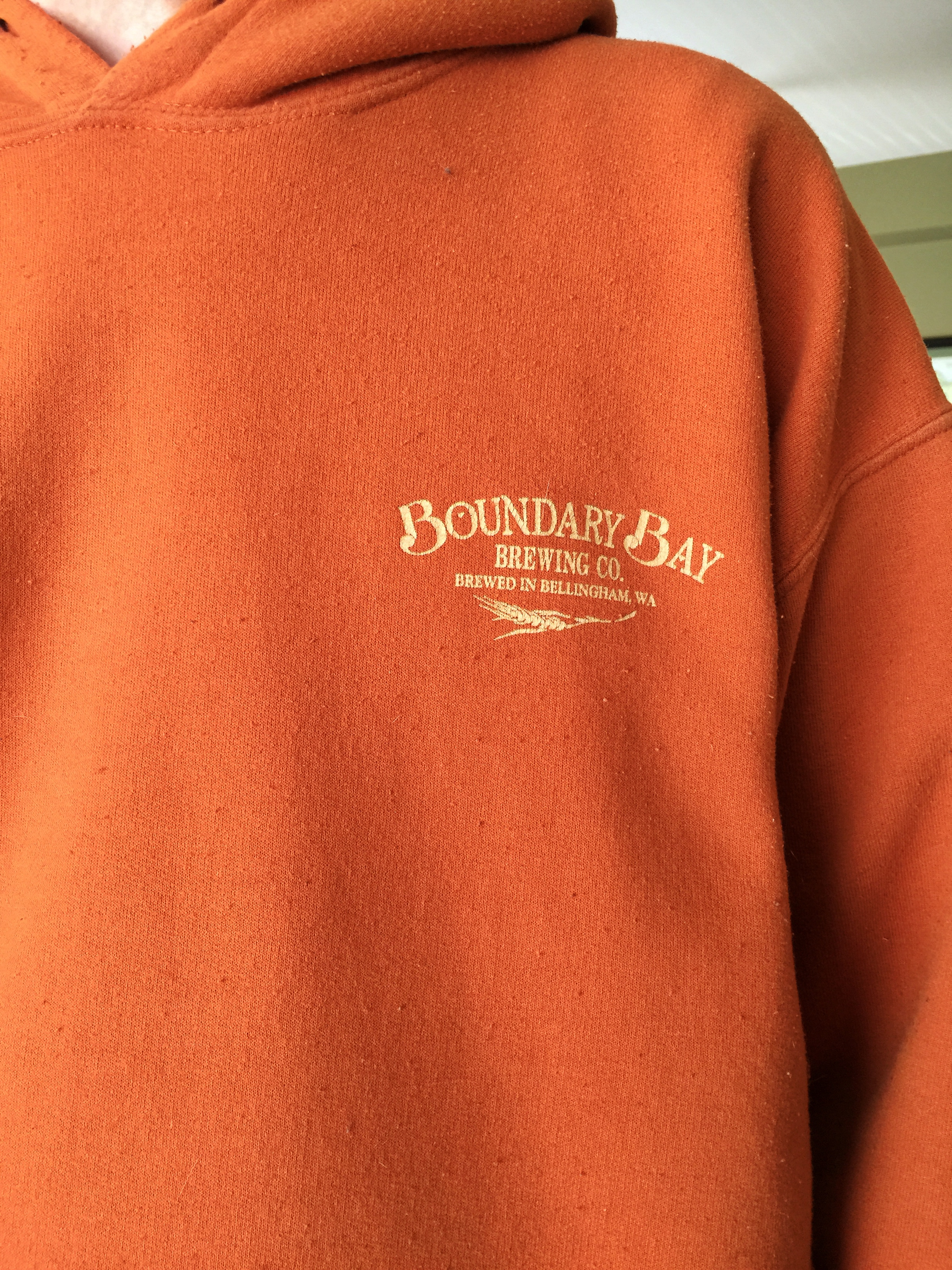 Boundary Bay sweatshirt Bellingham WA