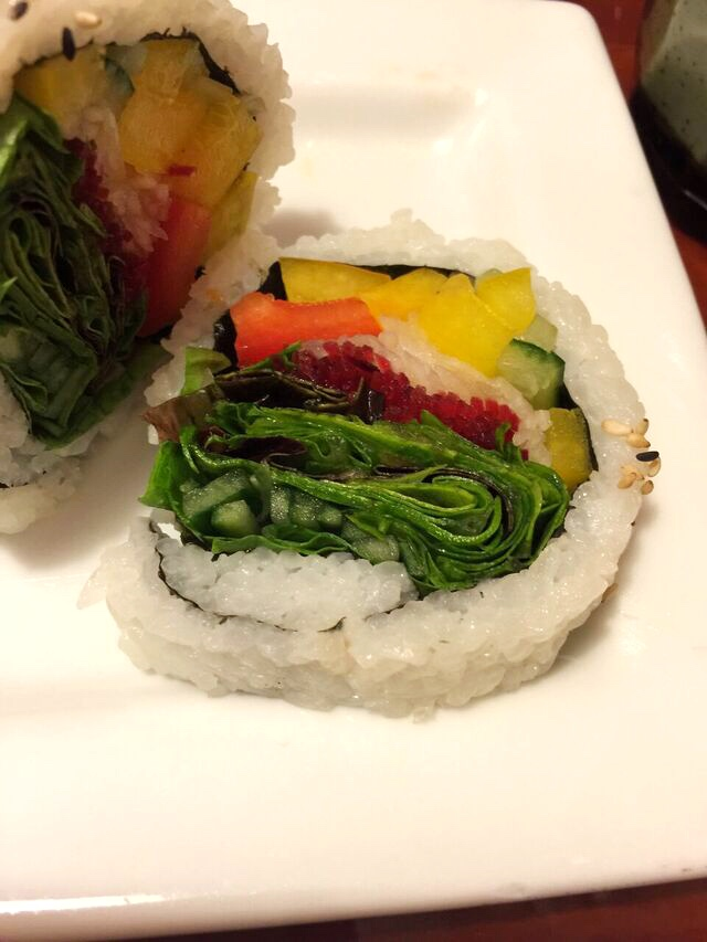 Hanaya veggie roll