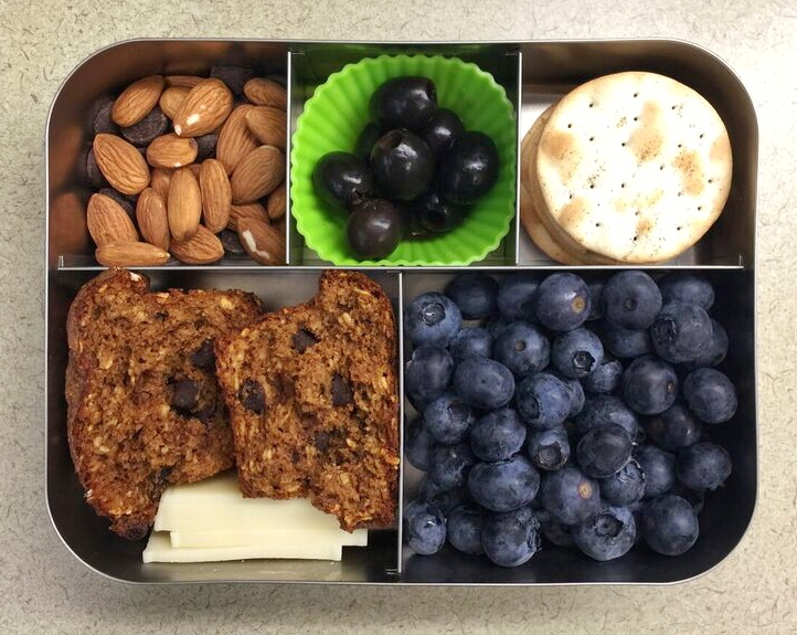 Chocolate and Almonds Bento