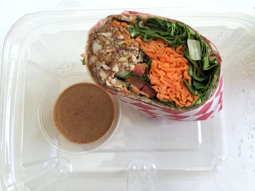 Go Nuts Wrap at Jujubeet