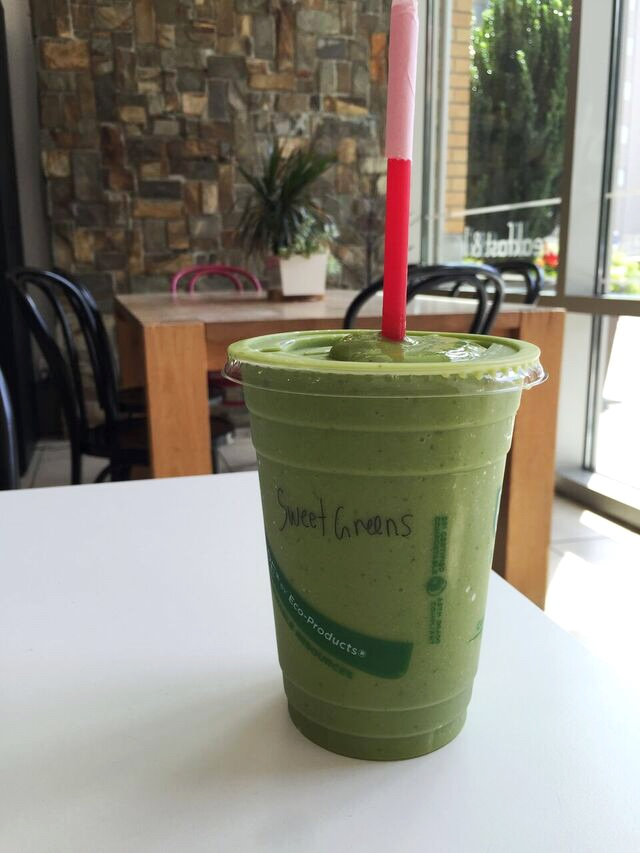 Sweet Greens Smoothie at Jujubeet