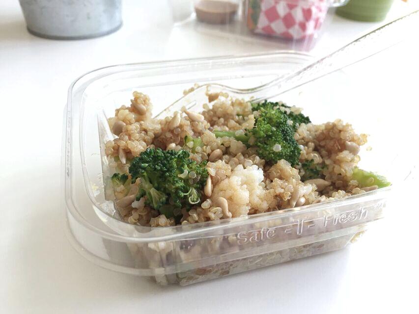 Teriyaki quinoa salad at Jujubeet