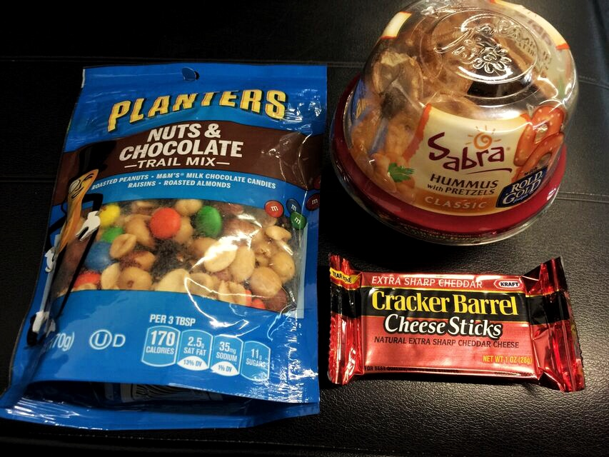 Airport snacks