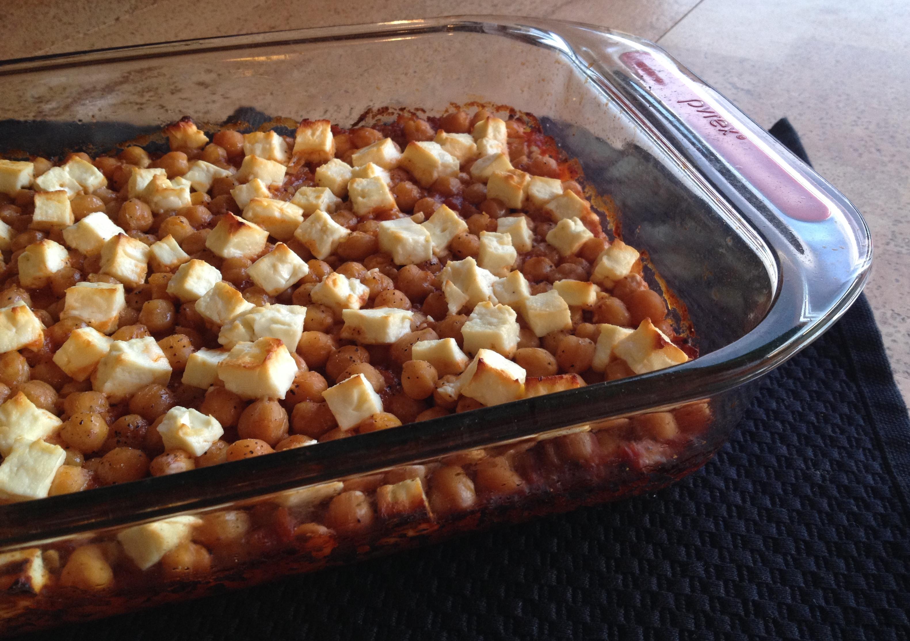 baked-garbanzos-with-fresh-cheese-feta