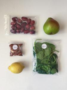 Green Blender Lemon Lift ingredients