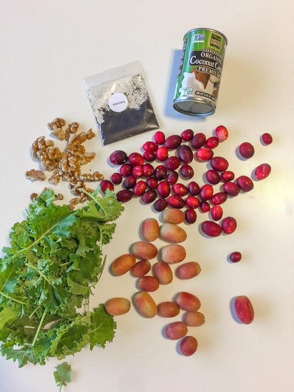 Green Blender Acai Cran Grape ingredients
