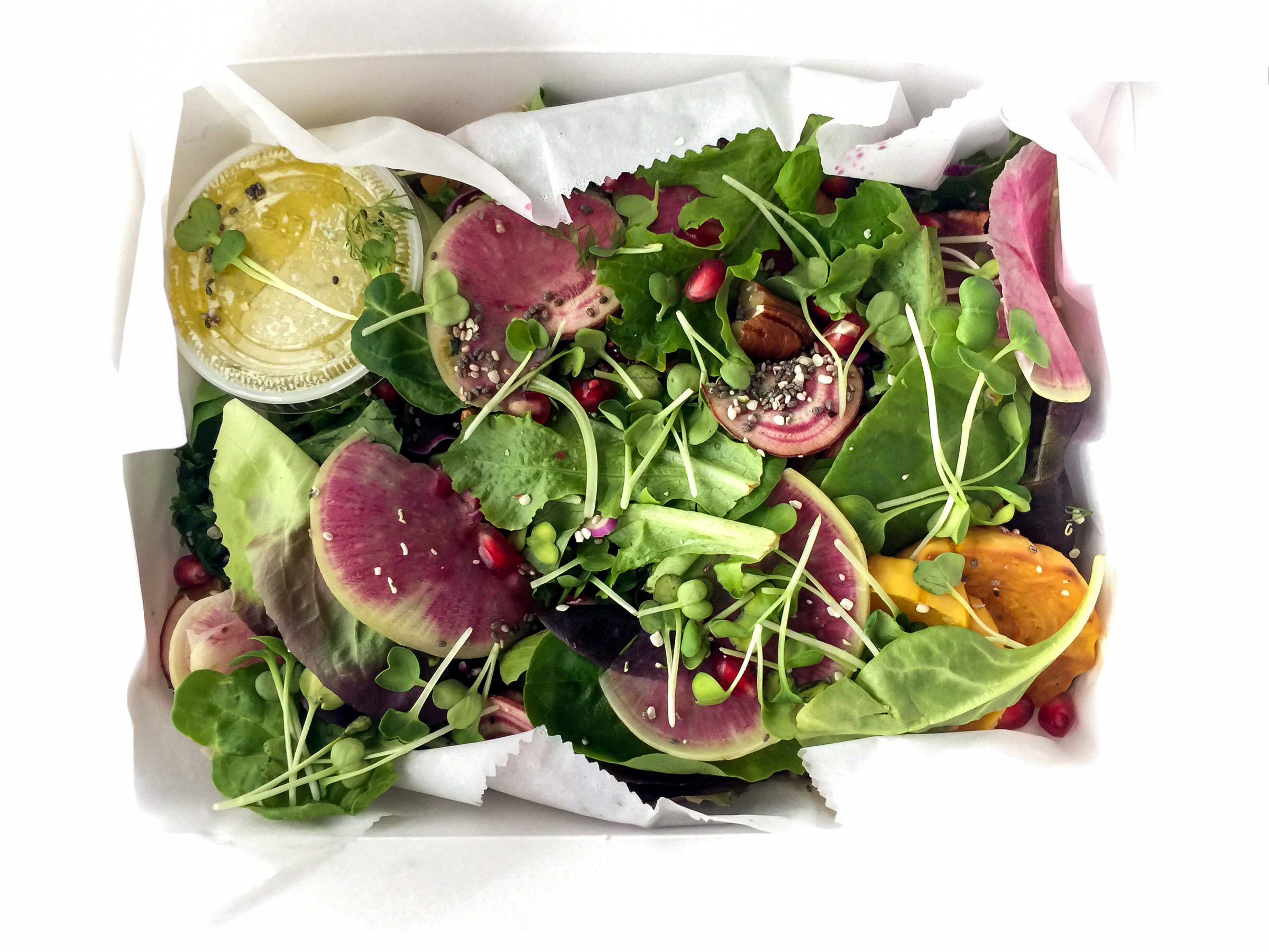 Superfood salad boxed