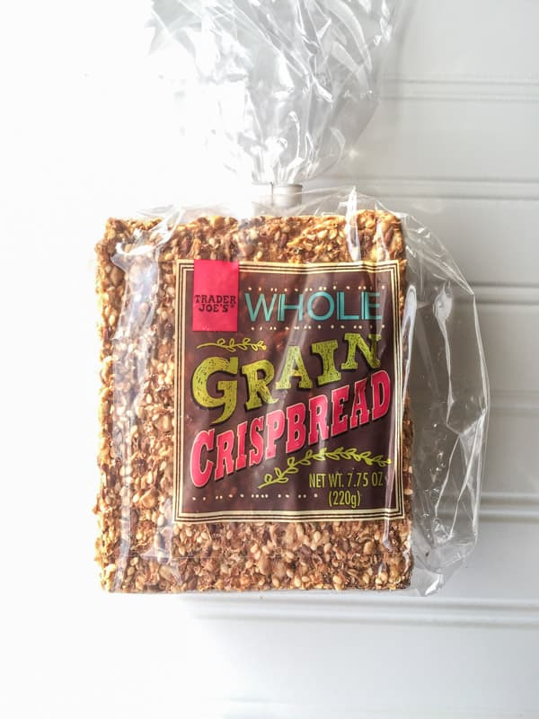 Trader Joes Whole Grain Crisp Bread package