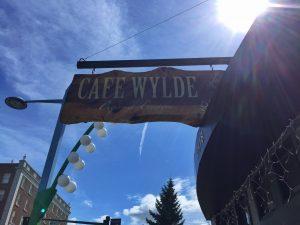 Cafe Wylde sign