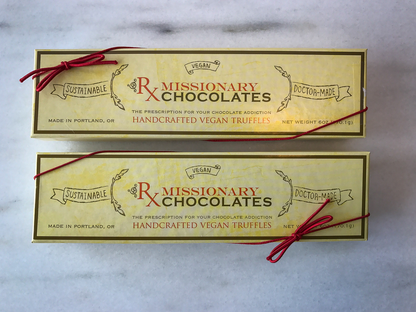 Missionary Chocolate boxes