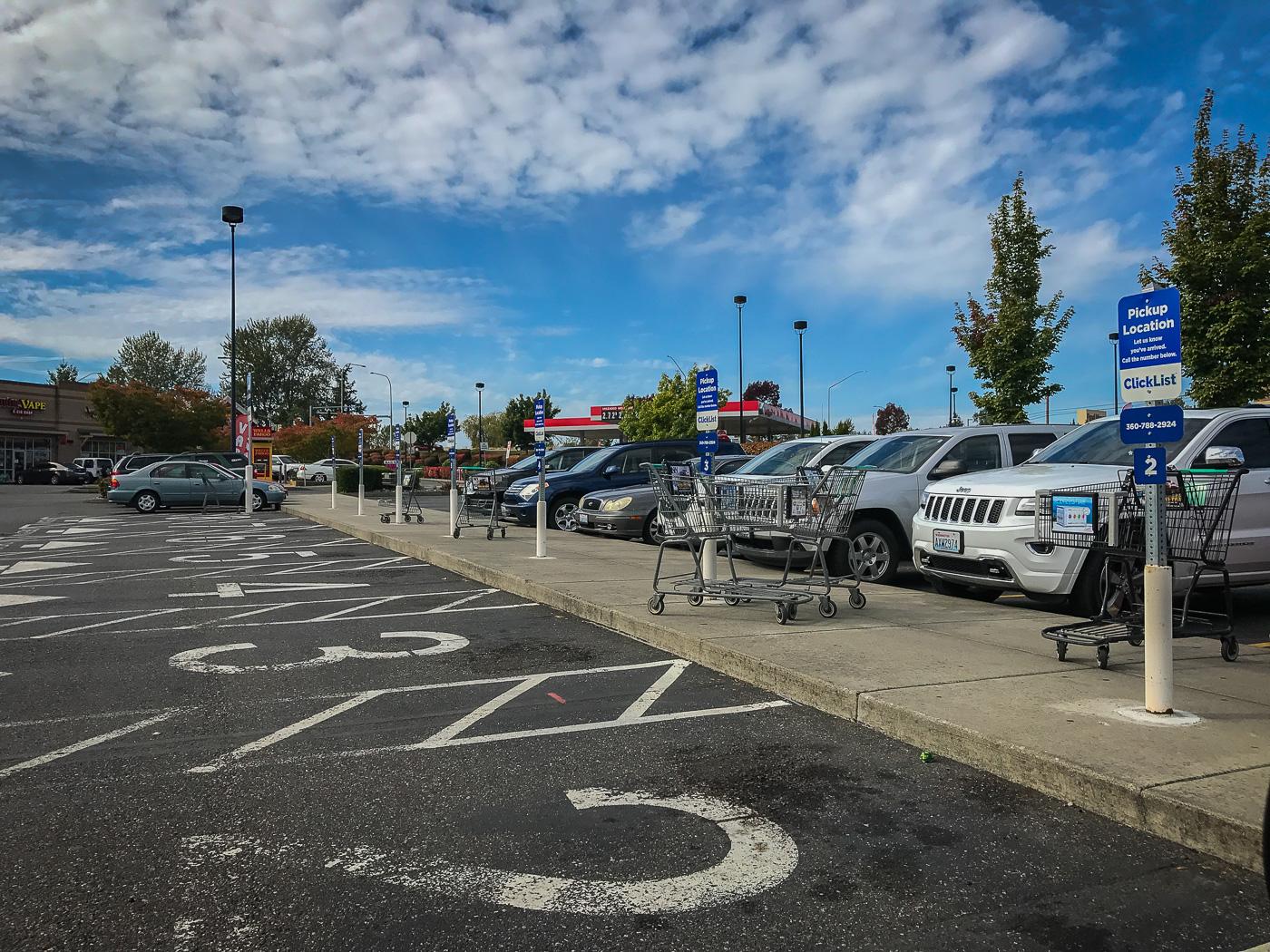 ClickList parking spots