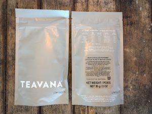 2 bags of Teavana White Chocolate Peppermint Tea